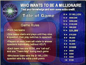 gallery who wants to be a millionaire template psd With who want to be a millionaire game template