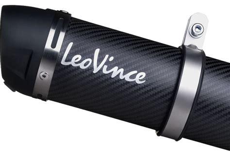 leovince gp corsa evo carbon fiber leovince