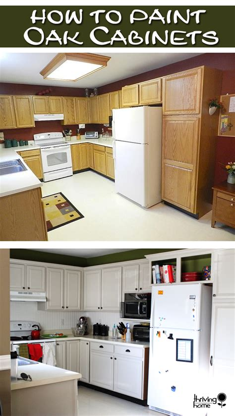 how to glaze painted cabinets painting oak cabinets thriving home