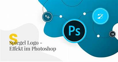 Photoshop Logos Glass Effect Tutorial Popwebdesign Erstellen