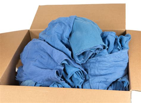 wholesale blue surgical towels bulk prices recycled rags