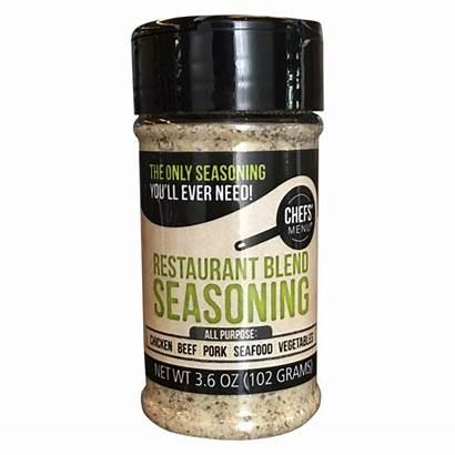 Blend Seasoning Restaurant Chefs Menu