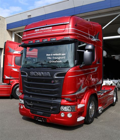 Scania Red Passion flames emotions