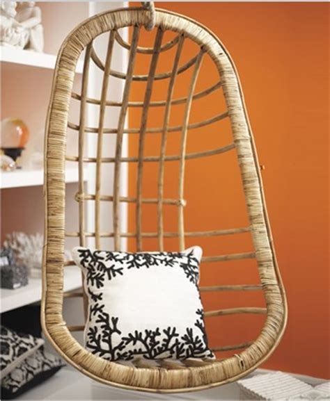 Hanging Chair In Room by Awesome Spotting A Hanging Chair For Your Living Room