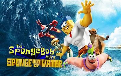 Spongebob Sponge Water Film Wallpapers Squarepants Wikia