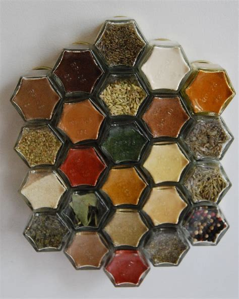 Empty Spice Jars by Glass Spice Jars Customize This Magnetic Spice Rack Set