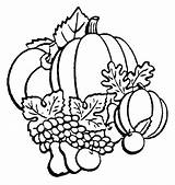 Coloring Pumpkin Pages Fall Printable Autumn Templates sketch template