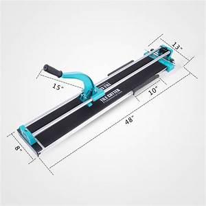 Tile Cutter 40  48inch Manual Cutting Machine Adjustable