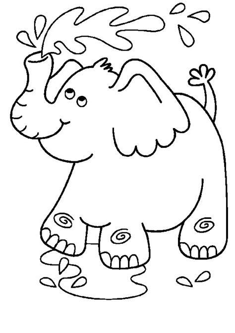 Coloring Gajah by Mewarnai Gambar Binatang Newhairstylesformen2014