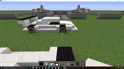 how to make a sports car in minecraft