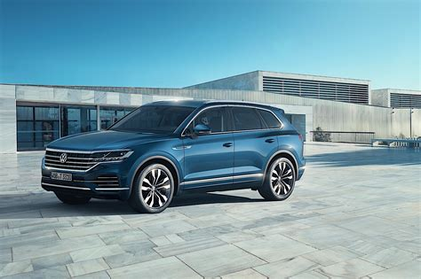 New Touareg 2018 by 2018 Volkswagen Touareg Breaks Cover In China Autoevolution
