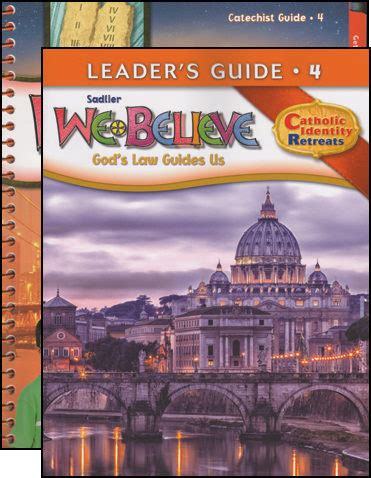 We Believe Catholic Identity, K6 Grade 4, Catechist Guide With Leader Guide, Parish Edition