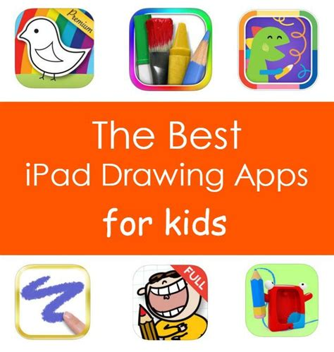 ipad drawing apps  kids