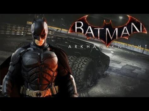 Christian Bale Plays Batman Arkham Knight Youtube