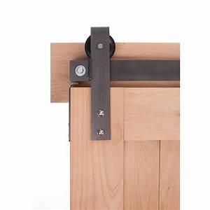 ironwood ironwood hardware 7 ft loft barn door system With 7 foot barn door hardware