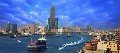Kaohsiung Overview Taiwan Tdac Bashi Channel Travel