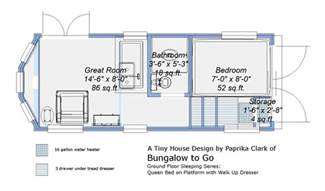 free tiny house trailer plans ground floor sleeping plans