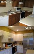Mobile Home Kitchen Cabinets by Painted Kitchen Cabinets DIY Pinterest