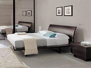 Lit Design Bois : lit design 20 lits design pour une chambre moderne elle d coration ~ Teatrodelosmanantiales.com Idées de Décoration