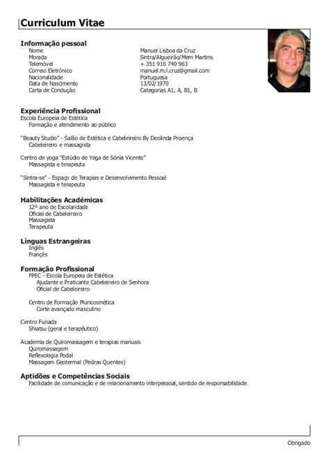 Doing A Cv by Doing Curriculum Vitae Cv Template Free And