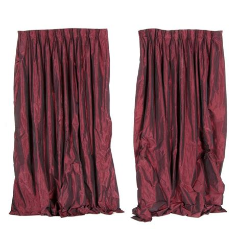 Maroon Window Valances by Best 25 Maroon Curtains Ideas On Bay Window