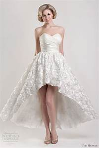 tobi hannah spring 2013 modern future classics bridal With short to long wedding dresses