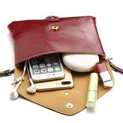 women pu crossbody bag envelope bag   phone wallet