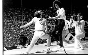 Queen: their finest moment at Live Aid - Telegraph