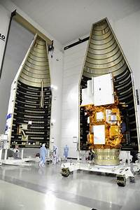 Fairing Encloses Landsat Satellite | NASA