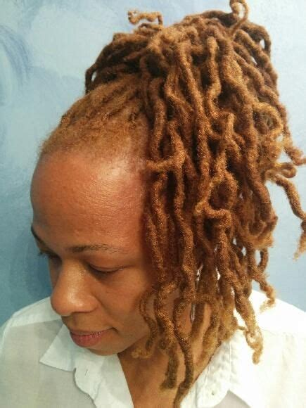 honey blonde locs  love  color natural hair