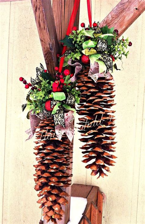 sugar pine cones ideas  pinterest pinecone
