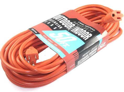 Electric Extension Cord Indoor Outdoor Heavy Duty