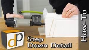 How To Make A Baseboard Step Down Detail   Bonus Trim Tips