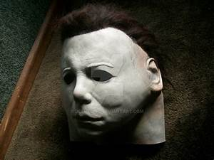 My new Michael Myers mask by DeeMelino on DeviantArt