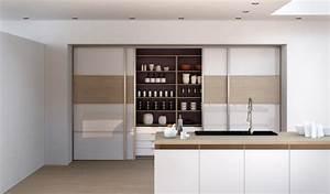 porte de placard coulissante m39i decors harmonieux large With modele de placard de cuisine
