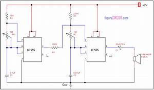 Electronic Horn Circuit