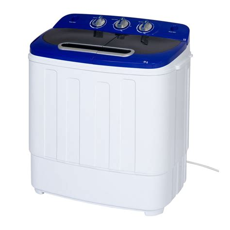 Portable Compact Mini Twin Tub Washer and Spin Cycle Dryer