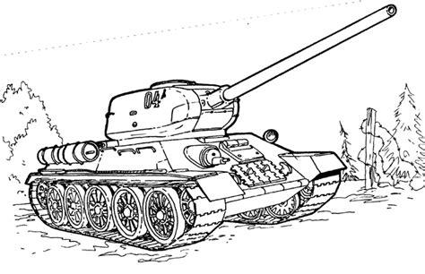 dessin  colorier dun tank
