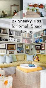 27, Sneaky, Tips, For, Small, Space, Living