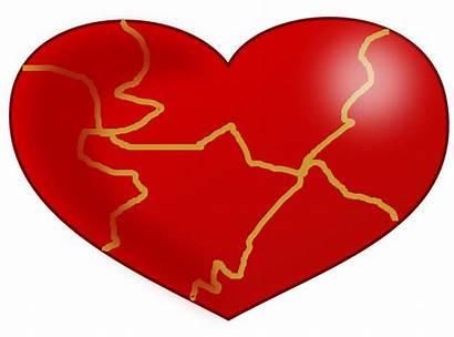 Heart Kintsugi Clipart Svg