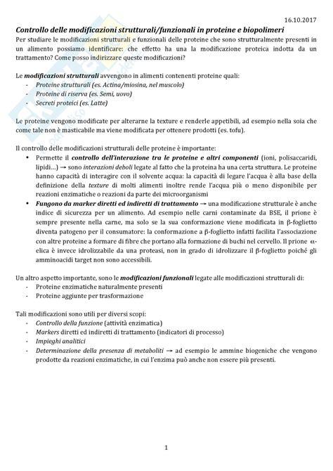 biochimica della nutrizione dispense biochimica degli alimenti domande
