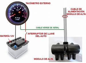 Diagrama De Instalaci U00f3n De Un Tac U00f3metro Externo En Tu