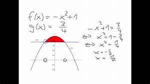 Fläche Zwischen Zwei Graphen Berechnen : fl che zwischen den graphen von zwei funktionen youtube ~ Themetempest.com Abrechnung