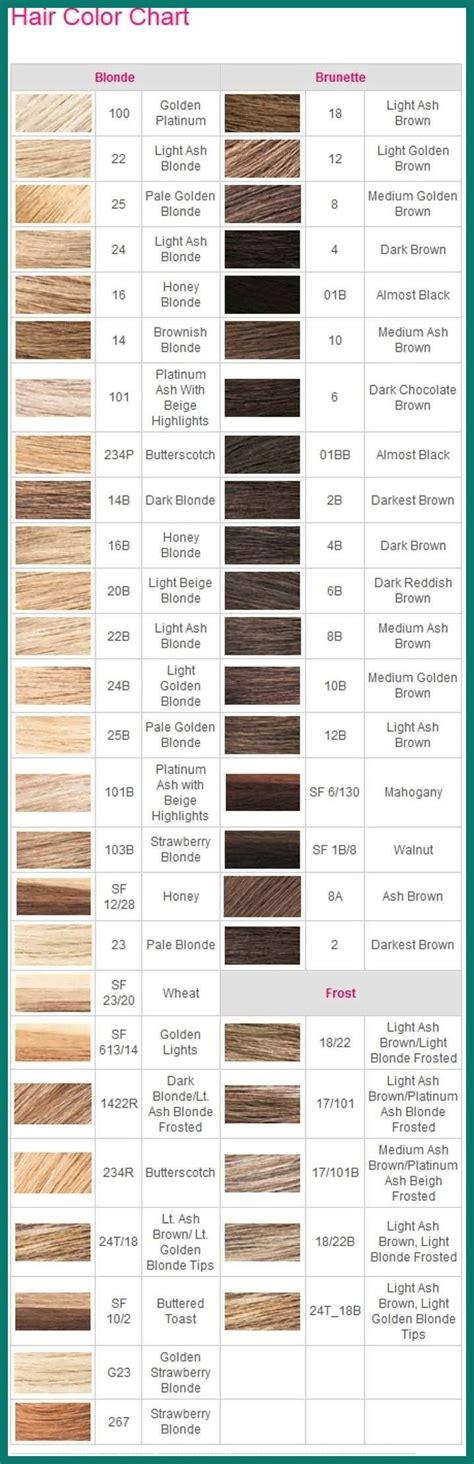 ion demi permanent hair color chart  ion color