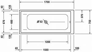 Baignoire Douche Dimension : indication ~ Premium-room.com Idées de Décoration