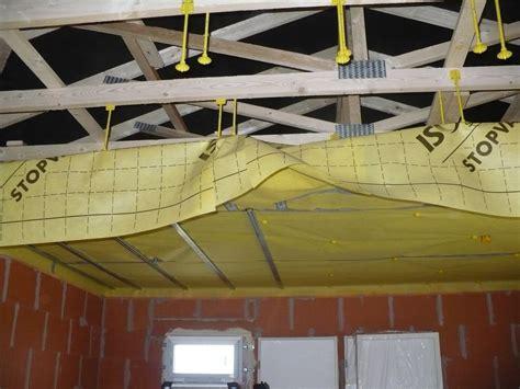 etancheite al air plafond pose des suspentes suspentes suite et fin ragr 233 age de l 233 tage villefranche de lauragais