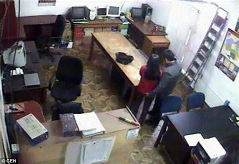 bureau d udes g ie civil bolivian civil servant is on cctv in his
