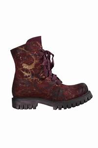 Papucei Bellum Bordeaux Hand Painted Boots | idaretobe ...