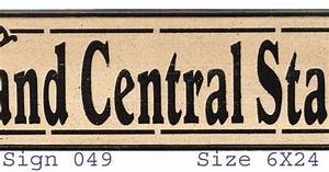 grand central station wood sign central station wood With kitchen cabinets lowes with grand central station wall art