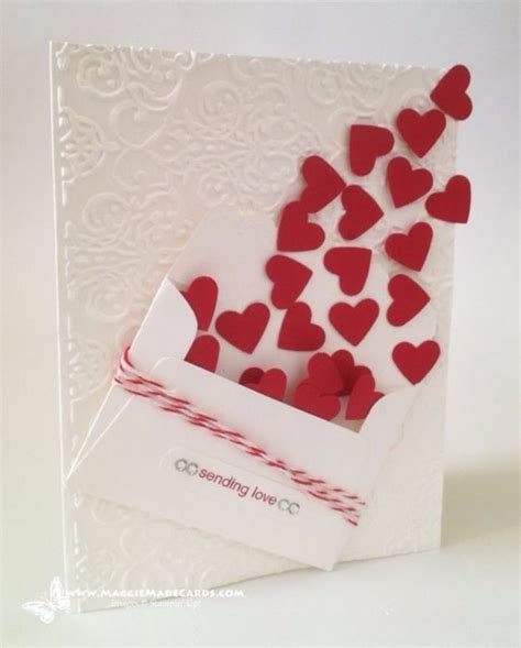 thoughtful handmade valentines cards valentines day